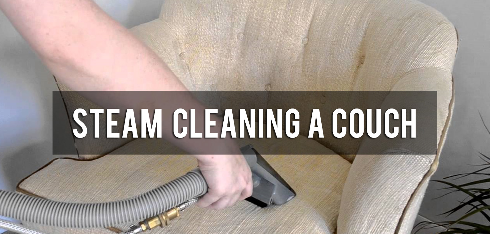 how to steam clean a couch