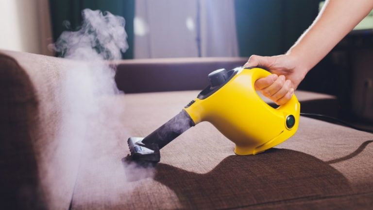Best Steam Cleaner for Furniture & Upholstery (2021)
