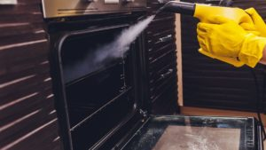 steam cleaning oven