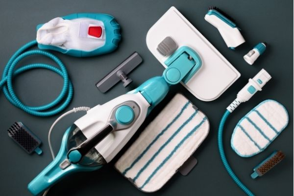 Accessories of a multipurpose steam cleaner