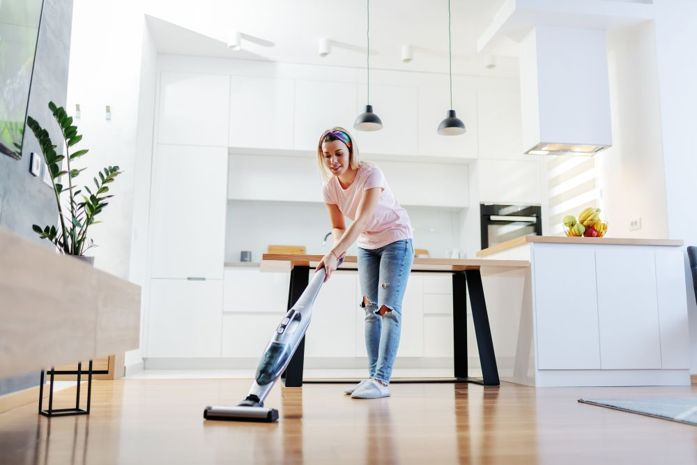 Steam Mop Cleaning