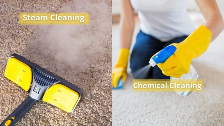 Steam Cleaning vs Chemical Cleaning Carpets (Which is Better?)