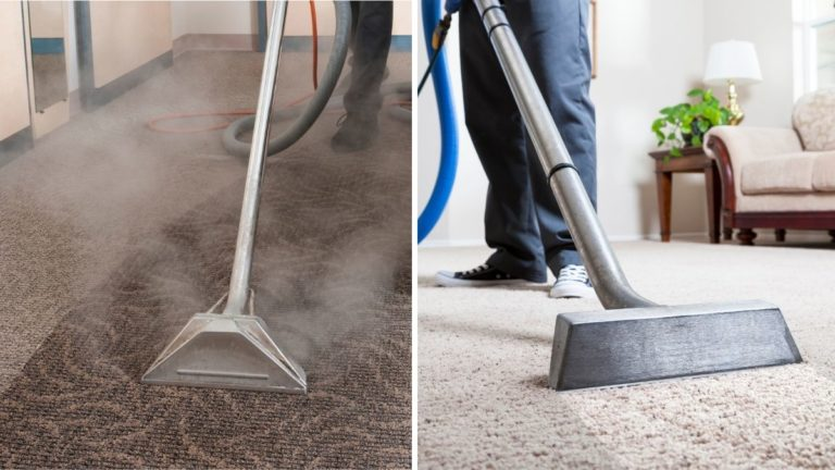 Carpet Steam Cleaning vs Dry Cleaning