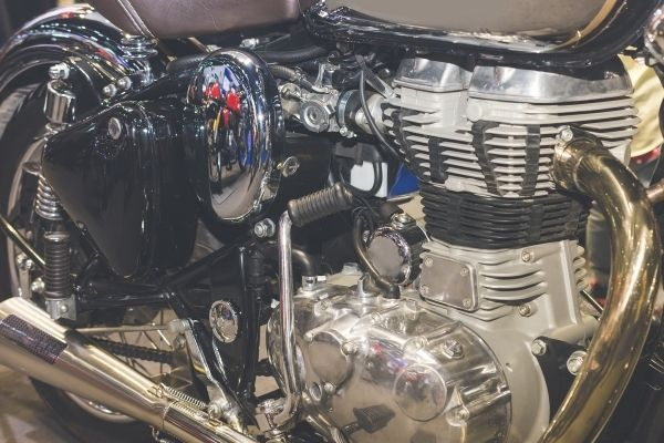 is steam cleaning motorcycle engine safe